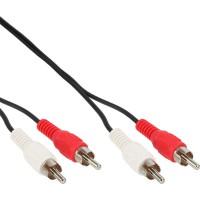 Câble Cinch, InLine®, 2x Cinch mâle/mâle 3m