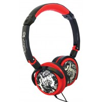 KNG casque Droid - human after all (rouge)