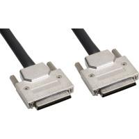 SCSI U320 Câble, InLine®, 68 broches micro Centronic (VHD) mâle/mâle, 0,9m