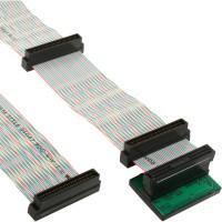 SCSI U320 Câble ruban, InLine®, 68 broches, 5 capteurs, pour 4 appareils, avec terminaison