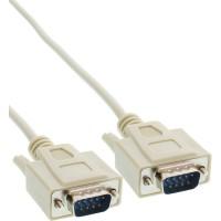 Câble sériel, InLine®, 9 broches mâle/mâle, affecté 1:1, 5m