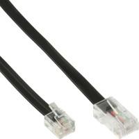 Câble modulaire, InLine®, RJ45 - RJ12 mâle/mâle 6 fils 6m