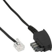 Câble InLine® TAE-N, TAE-N à RJ11 (6P4C), 1 m