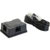 Distributeur ISDN Box 3 x, incl.. Câble 3m