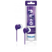 Philips SHE3590 in-ear headphone purple