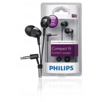 Philips écouteurs intra-auriculaires noirs