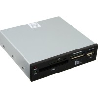 """Lecteur de carte InLine® USB 2.0 interne tout en 1 pour lecteur de disquettes 3,5 """""""