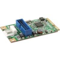 Carte InLine® Mini-PCIe 2x USB 3.0