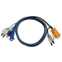 Jeu de câbles KVM, ATEN USB, 2L-5305U, longueur 5m