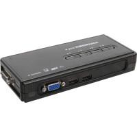 KVM Commutateur, InLine®, 4 x, USB