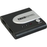 InLine® HDMI Auto Switch Electronic prêt pour la 3D