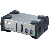 KVM Commutateur, ATEN, 2 x, CS82A, PS/2
