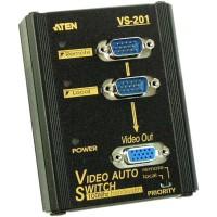 Sélecteur d'écran ATEN VS-201, 2x PC à 1x affichage