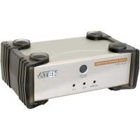 KVM Commutateur, ATEN CS231, 2x console à 1x PC, avec USB