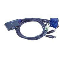 KVM Commutateur, ATEN, 2 x, CS62US, USB + Audio