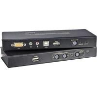 Konsolen-Extender ATEN CE800B, 1x PC - 2x Konsole USB, RS232, Audio, max. 250m