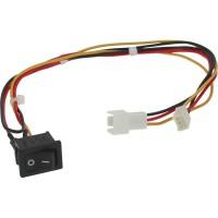 Interrupteur, InLine®, pour allumer/éteindre ventilateur du boîtier