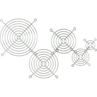Grille ventilateur 92x92mm