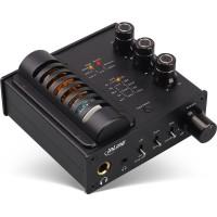InLine® AmpUSB-EQ, Hi-Res AUDIO HiFi DSD DAC audio USB, amplificateur de tube à vide pour casque et égaliseur