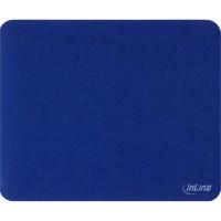 Tapis de souris InLine® pour une traction laser améliorée ultra-mince 220x180x0.4mm bleu