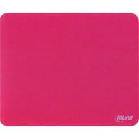 Tapis de souris InLine® pour une traction laser améliorée ultra-mince 220x180x0,4mm rouge