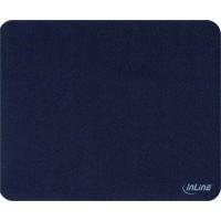 Tapis de souris InLine® pour une traction laser améliorée ultra-mince 220x180x0,4mm noir