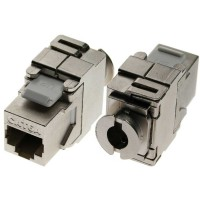 RJ45 Bu/LSA insert, SNAP-In, Cat.6a