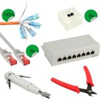 Kit d'installation réseau InLine® Cat.6