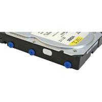 Rail en caoutchouc InLine® pour le découplage en vibration des disques durs 8 pcs.