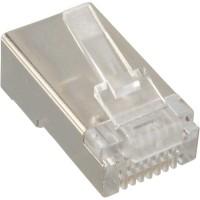 InLine® Crimp Connector RJ45 pour câbles rigides / câbles d'installation jusqu'à AWG24 10 pcs.