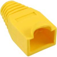 InLine® 10 pcs Pack RJ45 Anti Kink Sleeve jaune
