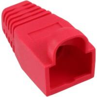 InLine® 10 pcs Pack RJ45 Anti Kink Sleeve rouge