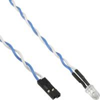 Carte mère InLine® Power / HDD LED bleue 5mm 0.8m