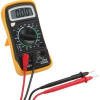 Multimètre numérique InLine® avec test de sonde de température et de transistor