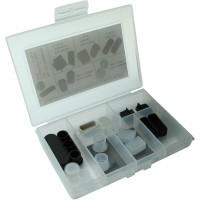 Kit anti-poussière InLine® pour multimédia Antenne HDMI DVI RCA 14 pcs.