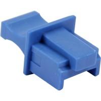 Protège-poussière, InLine®, pour RJ45 prise femelle, couleur: bleu