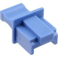 InLine® Dust Cover pour prise RJ45 bleu 100 pcs. Pack