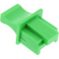 InLine® Dust Cover pour prise RJ45 vert 100 pcs. Pack
