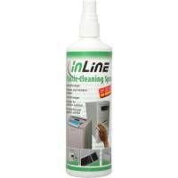 Inline® agent de nettoyage plastique pour boîtier clavier souris, bombe de nettoyage 250ml