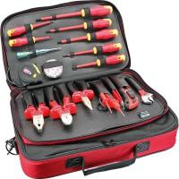 Coffret outils électriques professionnel, 18 pcs.
