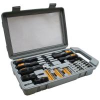Jeu d'embouts de tournevis InLine®, 45 pièces pour la réparation de PC Server Notebook