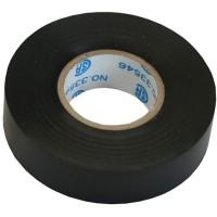 Ruban électrique InLine® noir 18 mm x 18 m