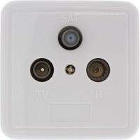 Connecteur antenne, blindé, UP, prise de dérivation ou terminale