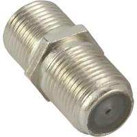 SAT raccordement F (double connecteur femelle, accouplement F), InLine®, 10pcs. bag