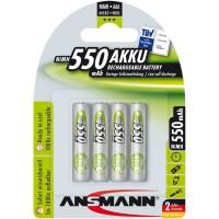 Ansmann accumulateur NiMH, Micro (AAA), 550mAh, 4 pcs. (5030772)