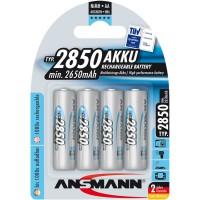 Ansmann accumulateur NiMH, Mignon (AA), 2850mAh, 4 x blister (5035212)