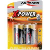 Ansmann Pile alcaline X-Power, (C), 2 pcs. pack (5015623), 7,5mAh