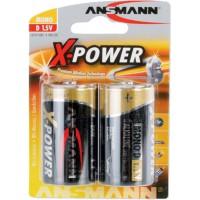 Ansmann pile alcaline X-Power, Mono (D), 2 pcs. pack (5015633)