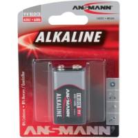 Batterie alcaline Ansmann, bloc 9V, 1er pack (1515-0000)