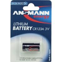 Ansmann batterie photo lithium 3V CR123A, 1 x blister (5020012)